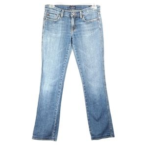 People for Peace Low Rise Straight Denim Jeans 27